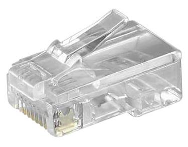 10x westernstecker modular telefon stecker 8p8c rj45 zum crimpen kaufen bei. Black Bedroom Furniture Sets. Home Design Ideas