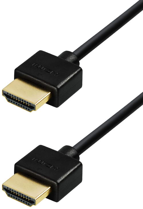 1 5 m hdmi kompakt kabel extra d nn kurze stecker high speed ebay. Black Bedroom Furniture Sets. Home Design Ideas