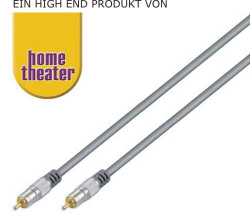 10 m mono cinch audio kabel 50ohm f subwoofer high end. Black Bedroom Furniture Sets. Home Design Ideas