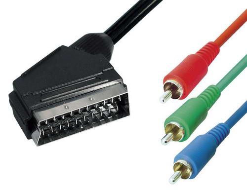 3 0 m scart yuv rgb adapter kabel scart auf 3xcinch kaufen bei. Black Bedroom Furniture Sets. Home Design Ideas