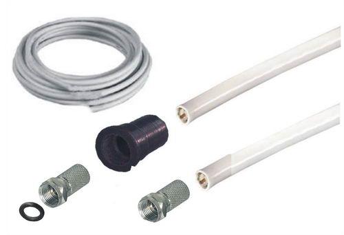 sat koax adapter kabel 5 m f stecker auf koax buchse ebay. Black Bedroom Furniture Sets. Home Design Ideas